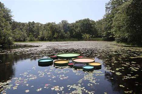 Large-Scaled Lily Pads