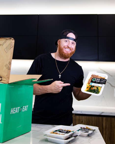 Baseball Player-Backed Meal Kits