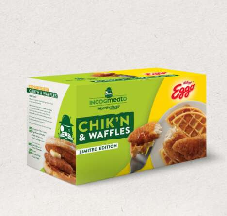 Vegan Chicken-and-Waffle Giveaways