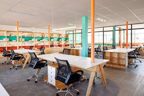 Color-Split Offices