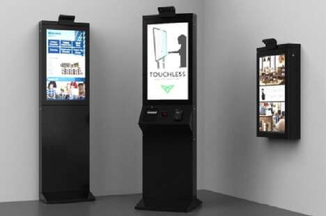 Contactless B2B Kiosks