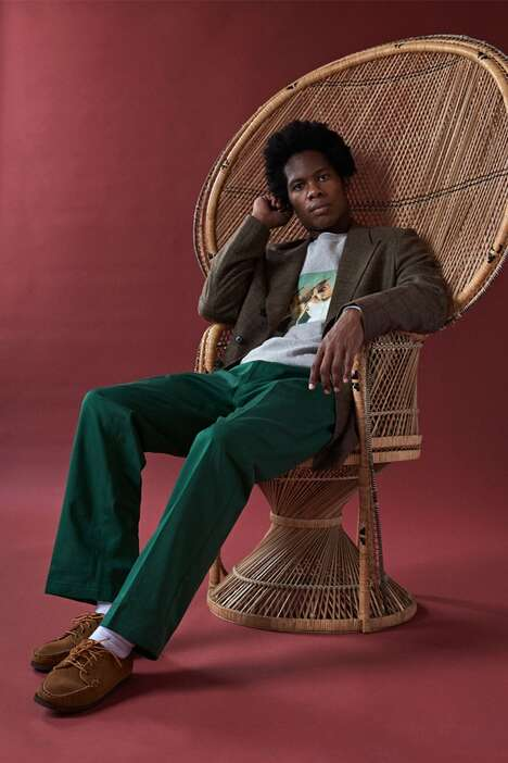 Retro-Inspired Menswear Collections