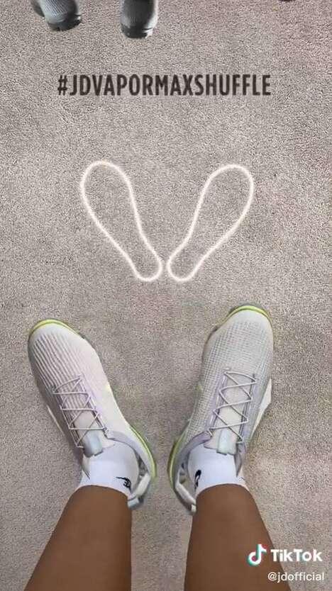 Dance-Inspiring Virtual Sneakers