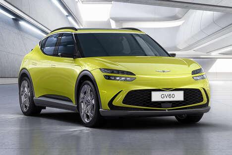 Luxury Crossover Electric Vehicles