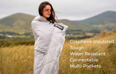 Outdoor Graphene-Infused Blankets
