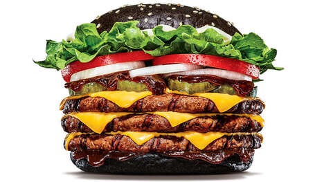 Triple-Patty Beer-Infused Burgers