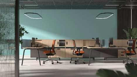 Collaborative Office Desk Systems
