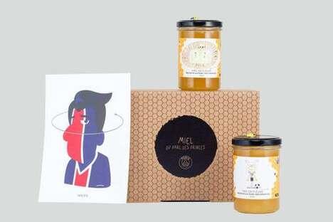 Sports Club-Branded Honey