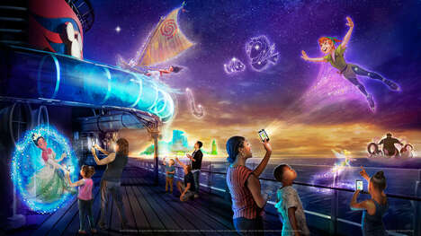 AR-Enabled Cruise Ship Experiences