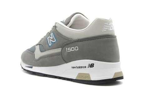 Gray Tonal Performance Sneakers