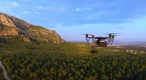 5G-Enabled Commercial Drones