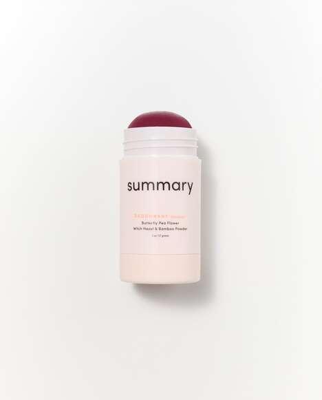 All-Natural Superflower Deodorants