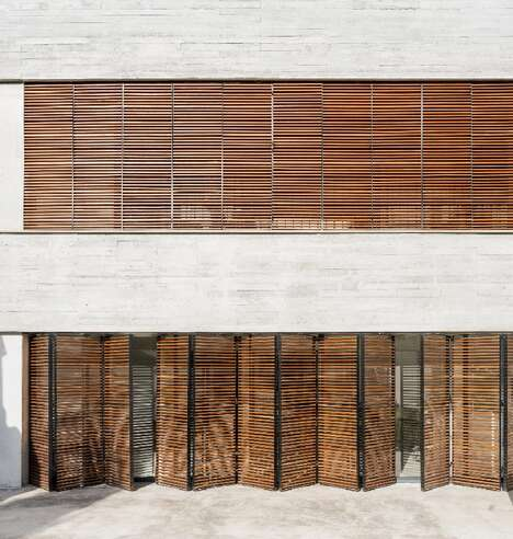 Extended Shuttered Living Spaces