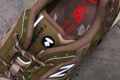 Collaborative Militaristic Durable Sneakers