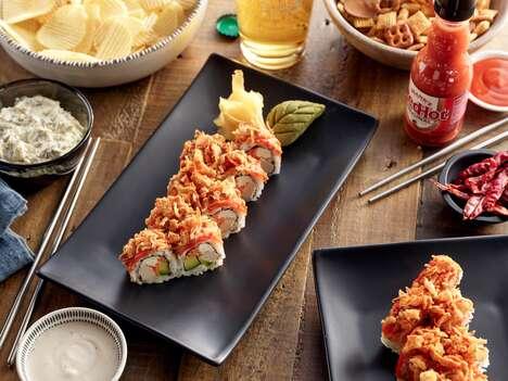 Hot Sauce Sushi Rolls
