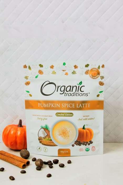 Organic Pumpkin Spice Lattes