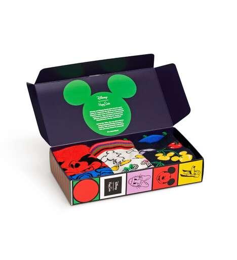 Disney-Themed Vibrant Socks