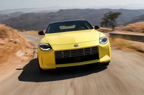 Powerful Retro-Inspired Sportscars
