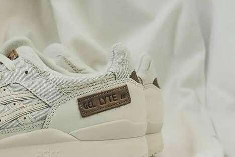 Premium Denim Casual Sneakers