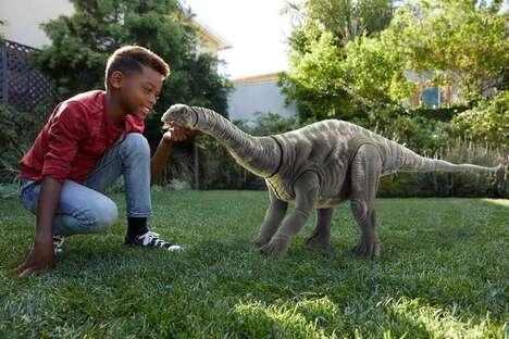 Oversized Prehistoric Toy Figures