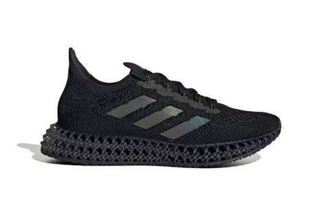 Iridescent Branding Tonal Sneakers