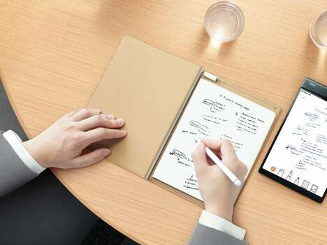 Note-Digitizing Tablets