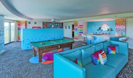 Pride-Themed Rainbow Suites