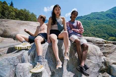 Travel-Insipred Cushioned Hiking Footwear