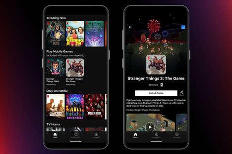Streamer-Developed Gaming Apps