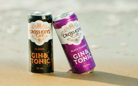 Well-Mixed Canned Gin Cocktails