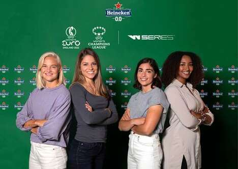 Beer-Branded Female Sports Initiatives