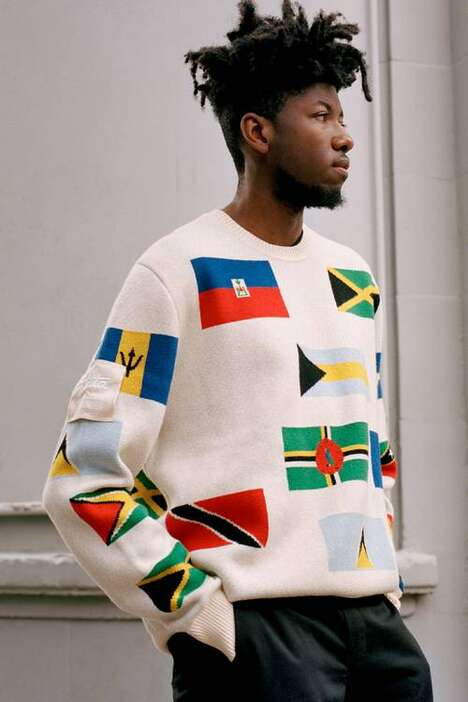 London Community-Themed Fashion