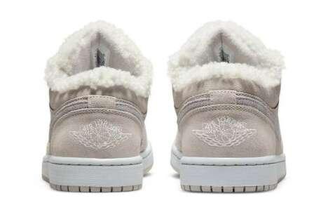 Cozy Sherpa Fleece Sneakers