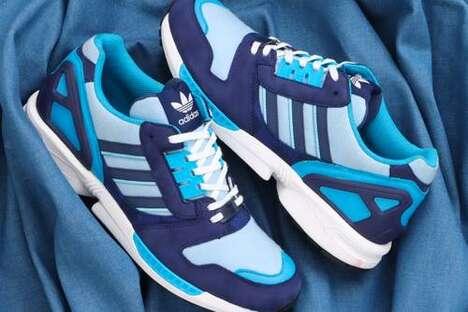 Denim Tonal Casual Sneakers
