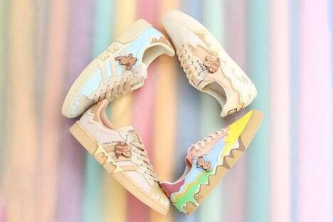 Whimsical Neopolitan Sneakers