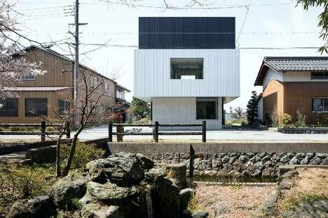 Sculptural Cubist Home Designs