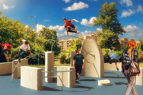 3D-Printed Recycled Playgrounds