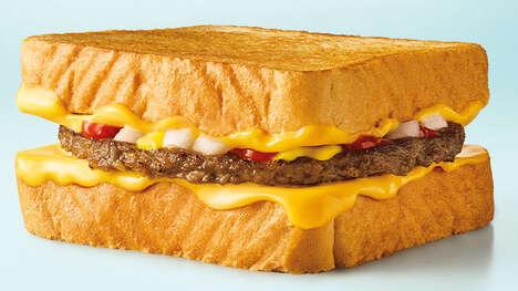 Juicy Sandwich-Burger Hybrids
