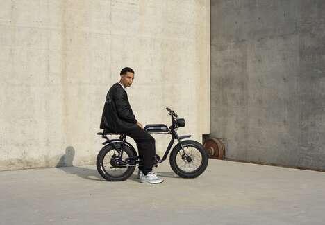 Artisan-Crafted E-Bikes