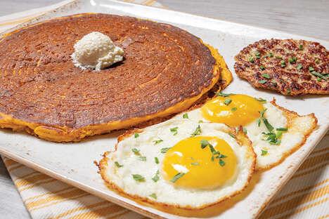 Pumpkin Pancake Breakfasts