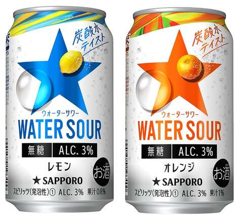 Low-Alcohol Japanese Seltzers