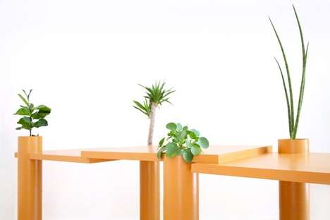 Plant-Friendly Tabletops