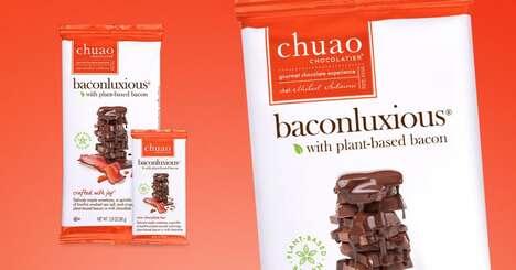Plant-Based Bacon Chocolate Bars