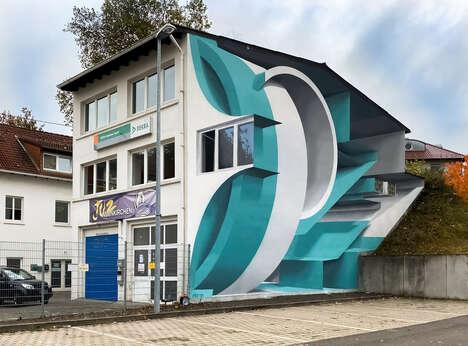 Three-Dimensional Geometric Murals