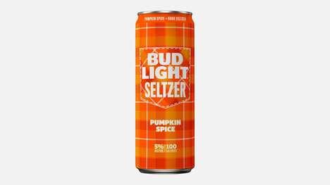 Spiked Pumpkin Seltzers