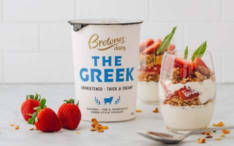 Adult-Focused Yogurt Products