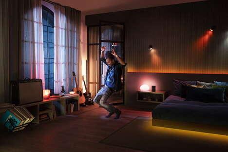 Music-Matching Smart Lights