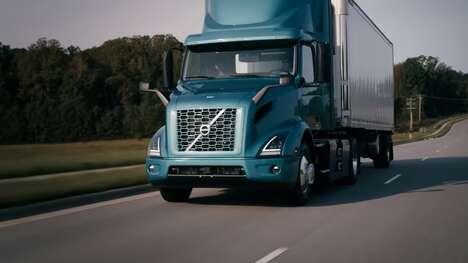 Heavy-Duty Electric Distribution Trucks