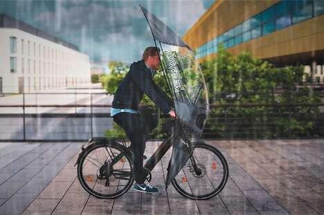 UV-Repellent Bicycle Umbrella Covers