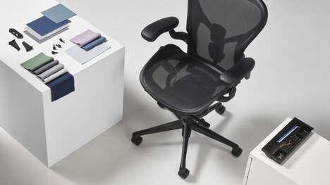 Ocean Plastic Office Chairs